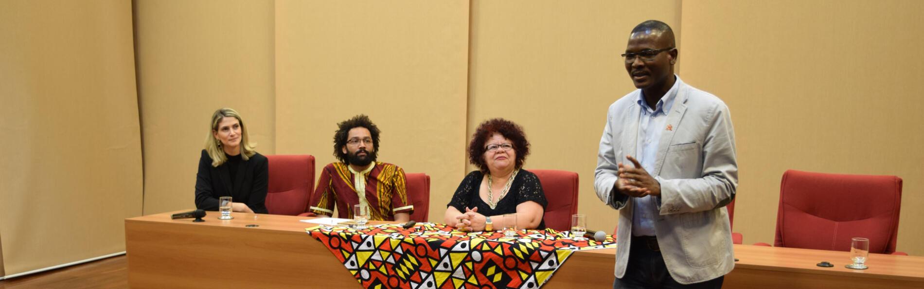 Seminário do Afrodom discute o lugar da África no século XXI